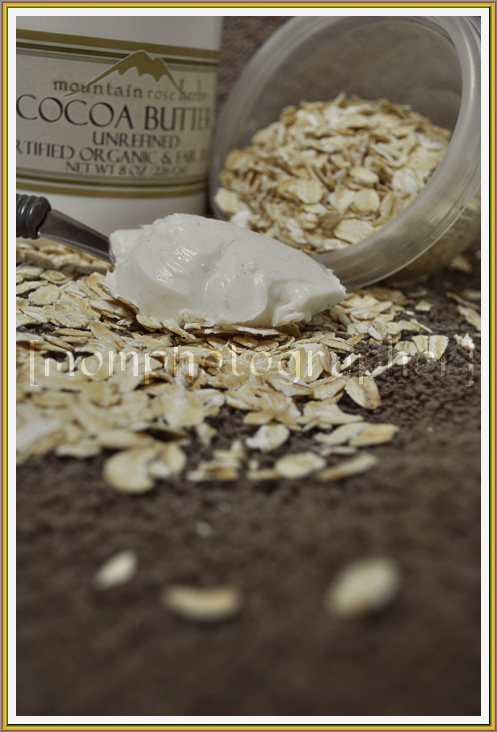 Homemade Lotion Recipes - Oatmeal Cocoa Butter