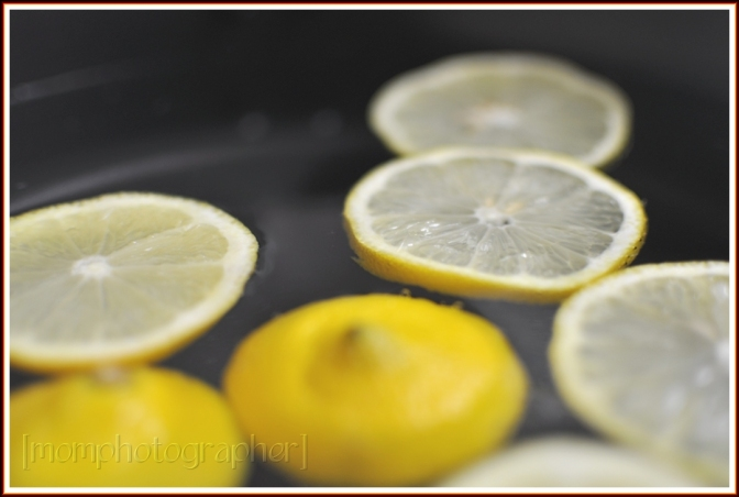 ewa samples, cleaning whites with lemons