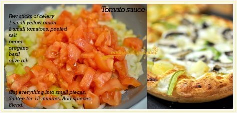 extra recipe for very fast, simple and tasty tomato sauce