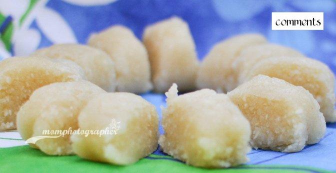 Homemade Marzipan (Marcepan domowe roboty)