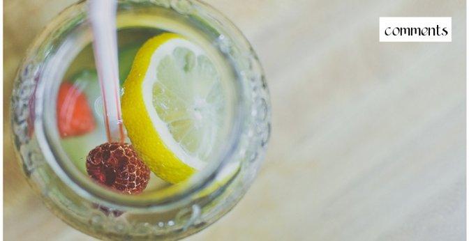 Lemon and Cucumber Water