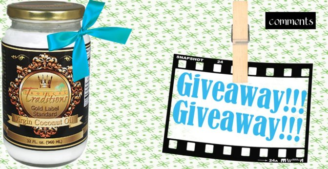 coconut oil giveaway