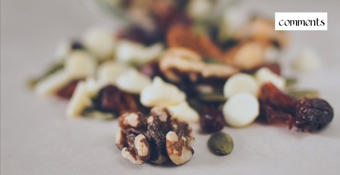 Trail mix. In other words, a jar full of goodness.